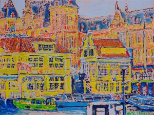 Koffiehuis Coffeehouse Central Station Amsterdam