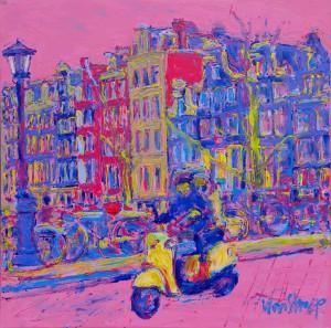 Prinsengracht scooter #7441 8080 sm